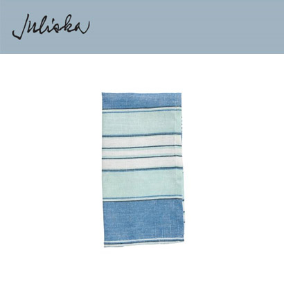 [해외][Juliska] 줄리스카 Amalfi Stripe Napkin Delft Blue (4pc)