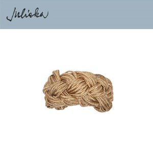 [해외][Juliska] 줄리스카 Gold Braid Napkin Ring (4pcs)