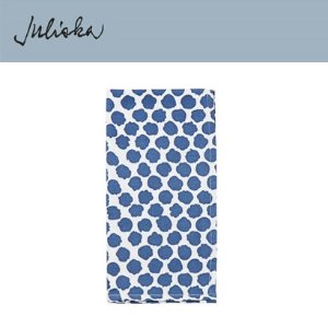 [해외][Juliska] 줄리스카 Painterly Dot Napkin Whitewash/Blue (4pc)