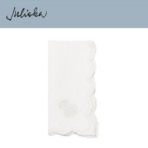 [해외][Juliska] 줄리스카 Heirloom Napkin Whitewash (4pc)