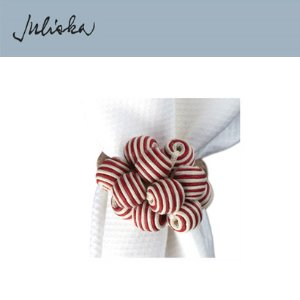 [해외][Juliska] 줄리스카 Bead Bouquet Napkin Ring Ruby (4pcs)