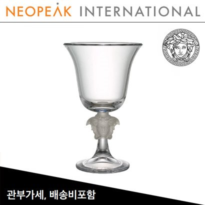 [해외][Versace] 베르사체 Medusa Lumiere Crystal Footed Vase ( H 12 ½ inch / 31.7cm)