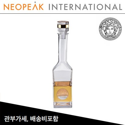 [해외][Versace] 베르사체 Medusa Madness Oro Vodka decanter