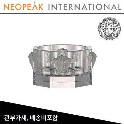 [해외][Versace] 베르사체 Medusa Lumiere Crystal Coaster for Bottle