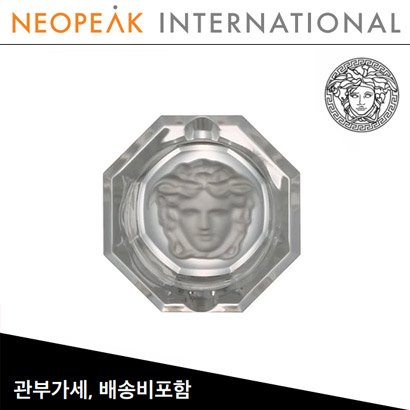 [해외][Versace] 베르사체 Medusa Lumiere Crystal Ashtray (3 ¼ inch / 8.2cm)