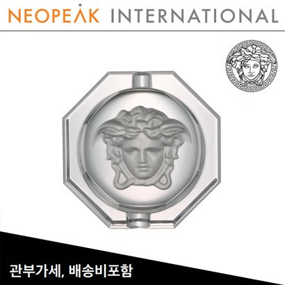 [해외][Versace] 베르사체 Medusa Lumiere Crystal Ashtray (6 ¼ inch / 15.8cm)