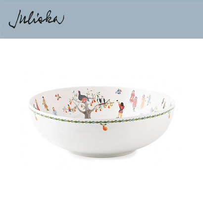 "[해외][Juliska] 크리스마스 Twelve Days of Christmas 11"" Serving Bowl"