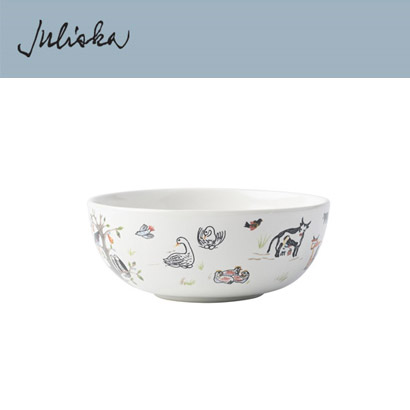 [해외][Juliska] 크리스마스 Twelve Days of Christmas Cereal/Ice Cream Bowl (4p)