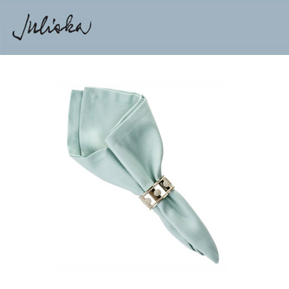 [해외][Juliska] 줄리스카 Herringbone Napkin Ice Blue (4pcs)
