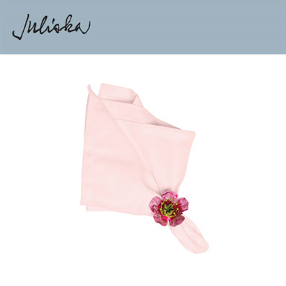 [해외][Juliska] 줄리스카 Herringbone Napkin Blush (4pcs)