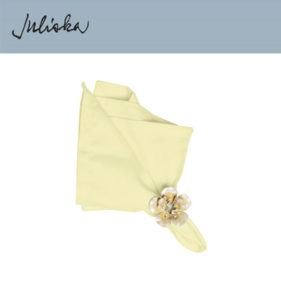 [해외][Juliska] 줄리스카 Herringbone Napkin Sunlight (4pcs)